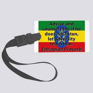 Advise And Counsel Him Luggage Tag