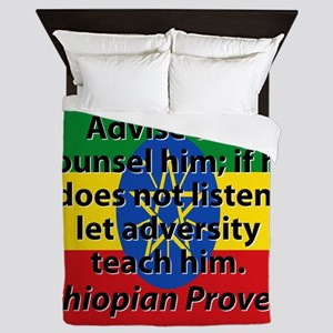 Advise And Counsel Him Queen Duvet