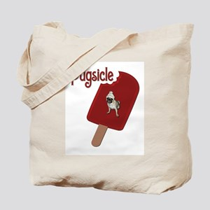 Pugscicle Tote Bag II
