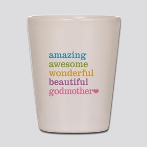 Godmother - Amazing Awesome Shot Glass