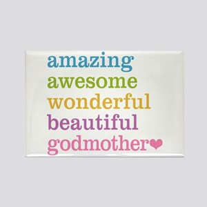 Godmother - Amazing Awesome Rectangle Magnet