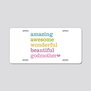 Godmother - Amazing Awesome Aluminum License Plate