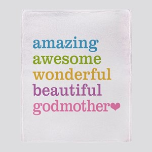 Godmother - Amazing Awesome Throw Blanket