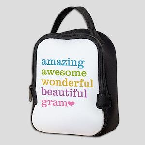Gram - Amazing Awesome Neoprene Lunch Bag