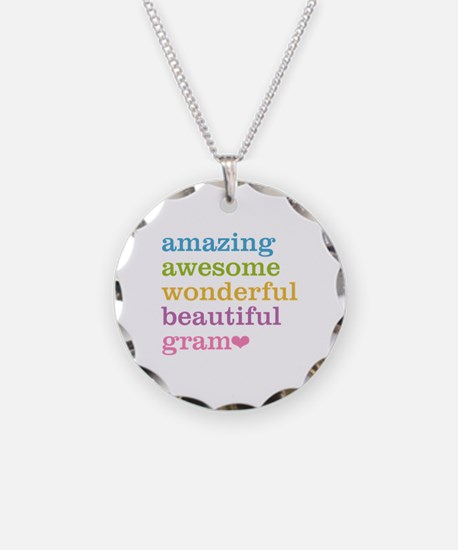 Gram - Amazing Awesome Necklace