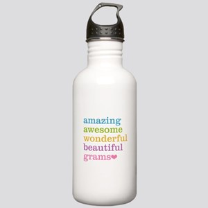 Grams - Amazing Awesom Stainless Water Bottle 1.0L