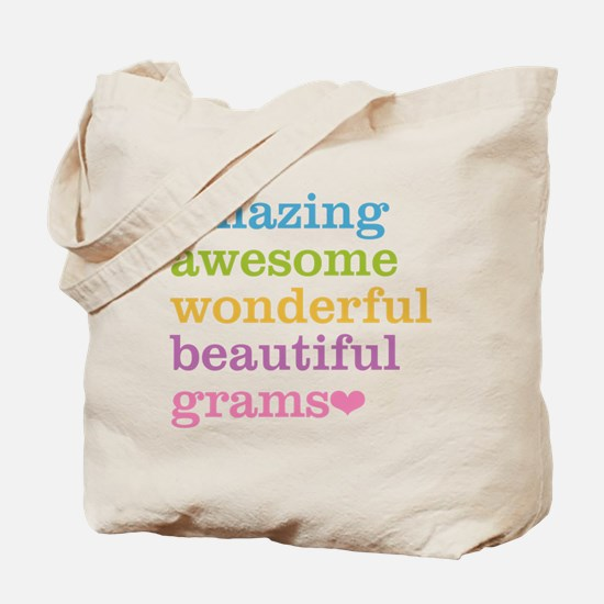 Grams - Amazing Awesome Tote Bag