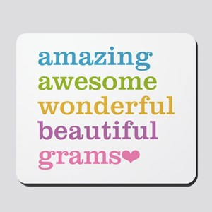 Grams - Amazing Awesome Mousepad