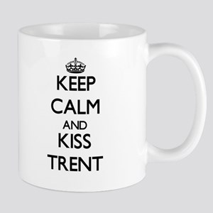 Keep Calm and Kiss Trent Mugs