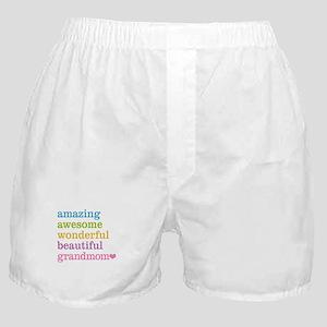 Grandmom - Amazing Awesome Boxer Shorts