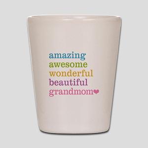 Grandmom - Amazing Awesome Shot Glass
