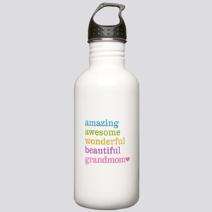Grandmom - Amazing Awe Stainless Water Bottle 1.0L