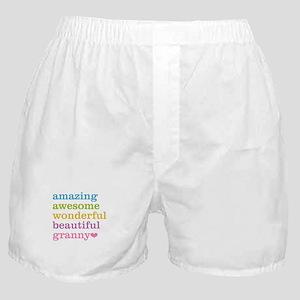 Granny - Amazing Awesome Boxer Shorts