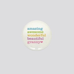 Granny - Amazing Awesome Mini Button