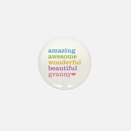 Granny - Amazing Awesome Mini Button