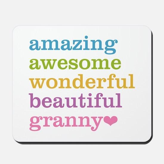 Granny - Amazing Awesome Mousepad