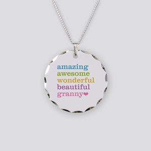 Granny - Amazing Awesome Necklace Circle Charm