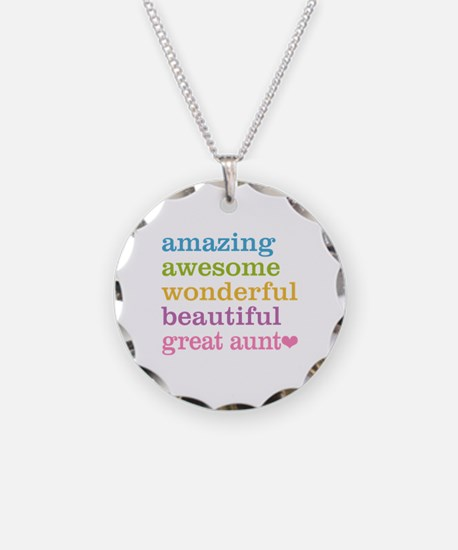 Great Aunt - Amazing Awesome Necklace
