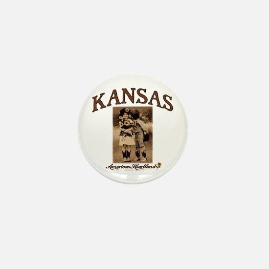 Kansas - Lil' Romance Mini Button