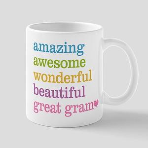 Great Gram - Amazing Awesome Mug
