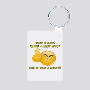 Have A Nice Day Translated Keychains