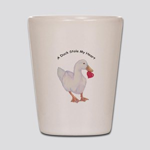A Duck Stole My Heart Pekin Design Shot Glass