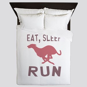 Eat Sleep Run Queen Duvet
