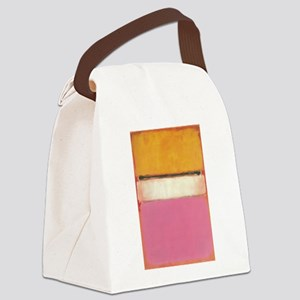 ROTHKO WHITE CENTER PINK ORANGE Canvas Lunch Bag