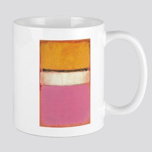 ROTHKO WHITE CENTER PINK ORANGE Mug