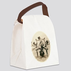 Beach Pyramid Canvas Lunch Bag