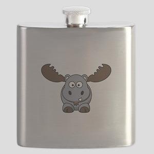 Hypotenuse the Hippopotamoose Flask