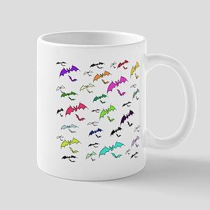Rainbow Of Bats Mug