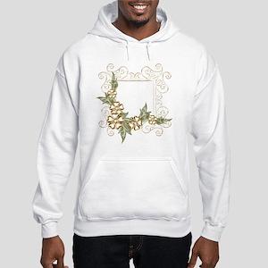 Floral Golden Frame Hooded Sweatshirt