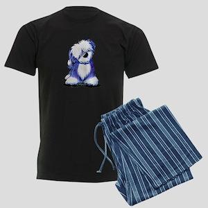 Old English Sheepie Men's Dark Pajamas