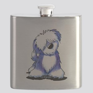 Old English Sheepie Flask