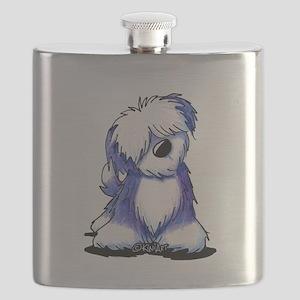 Old English Sheepie Flask