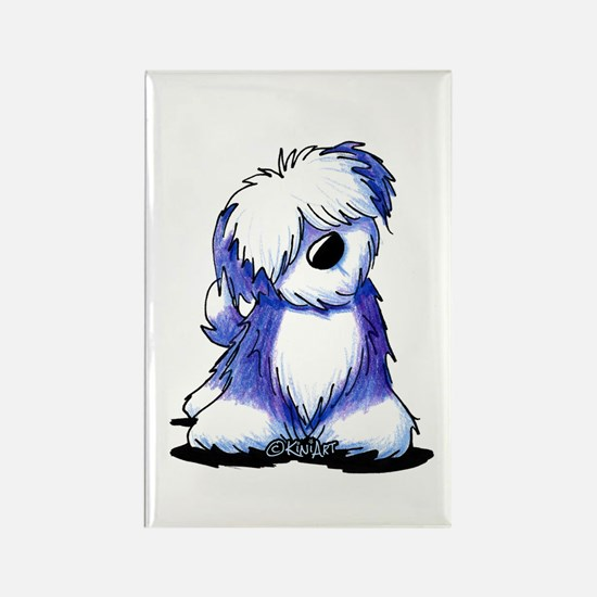 Old English Sheepie Rectangle Magnet (100 pack)