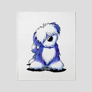 Old English Sheepie Throw Blanket
