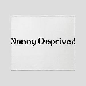 NANNY1 Throw Blanket