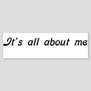 ALLME1A Bumper Sticker