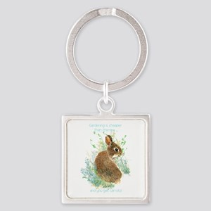 Gardening Is Cheaper Than Therapy Cute Keychains