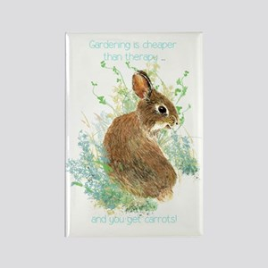 Gardening Is Cheaper Than Therapy Cute Magnets