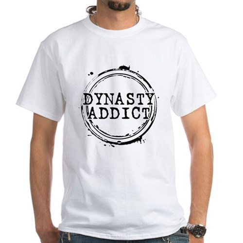 Dynasty Addict White T-Shirt