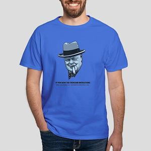 Churchill -Regulations Dark T-Shirt