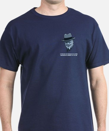 Churchill -Regulations T-Shirt