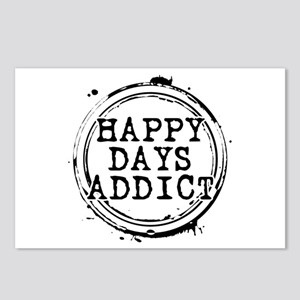 Happy Days Addict Postcards (Package of 8)