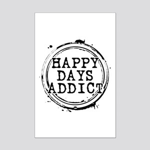 Happy Days Addict Mini Poster Print