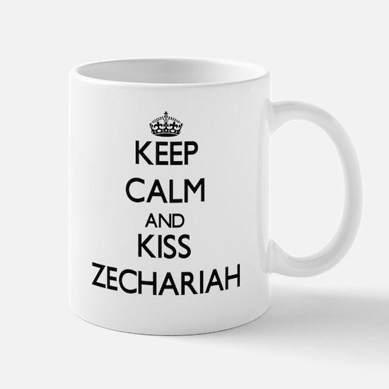Keep Calm and Kiss Zechariah Mugs