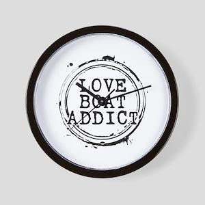 Love Boat Addict Wall Clock