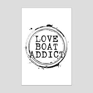 Love Boat Addict Mini Poster Print